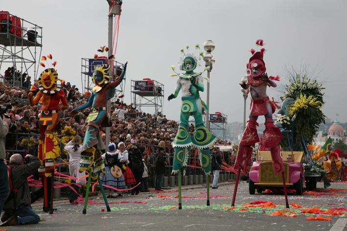 Карнавал във Венеция, Ница и Мантон 2017